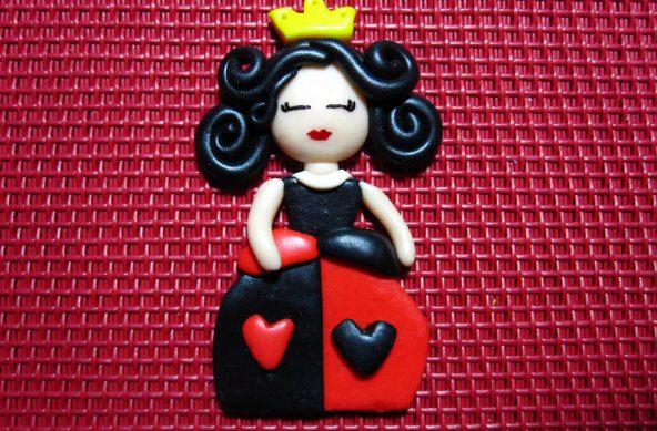 Imán Reina de Corazones